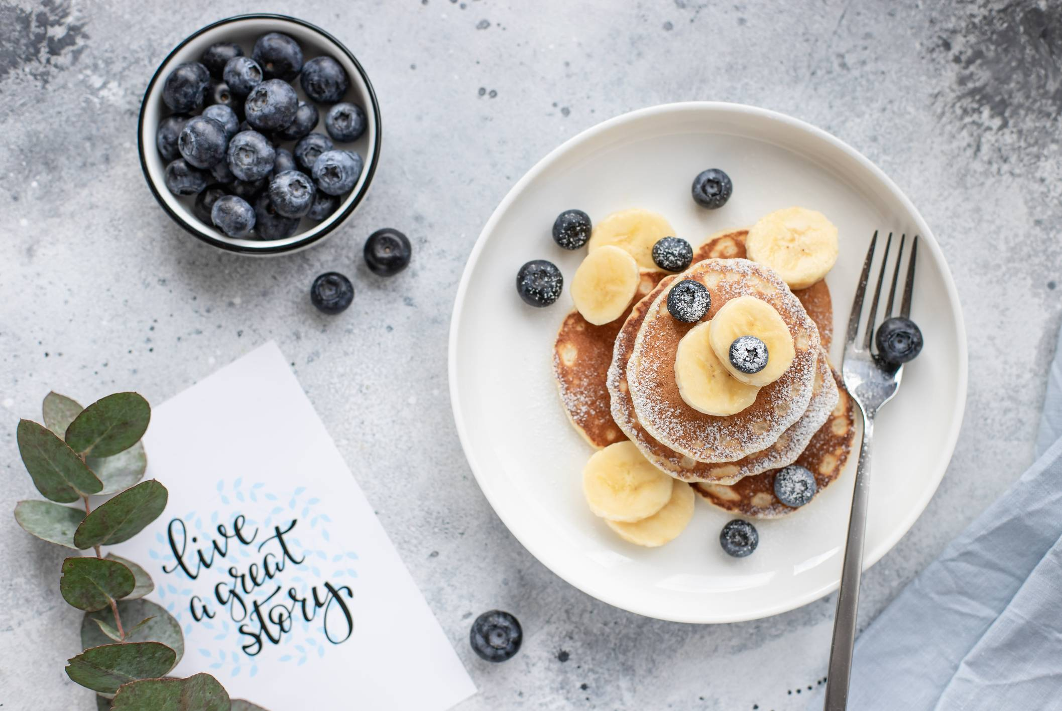 image Pancakes protéinés