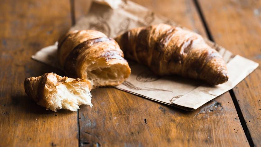 Pâte levée feuilletée ou pâte à croissant