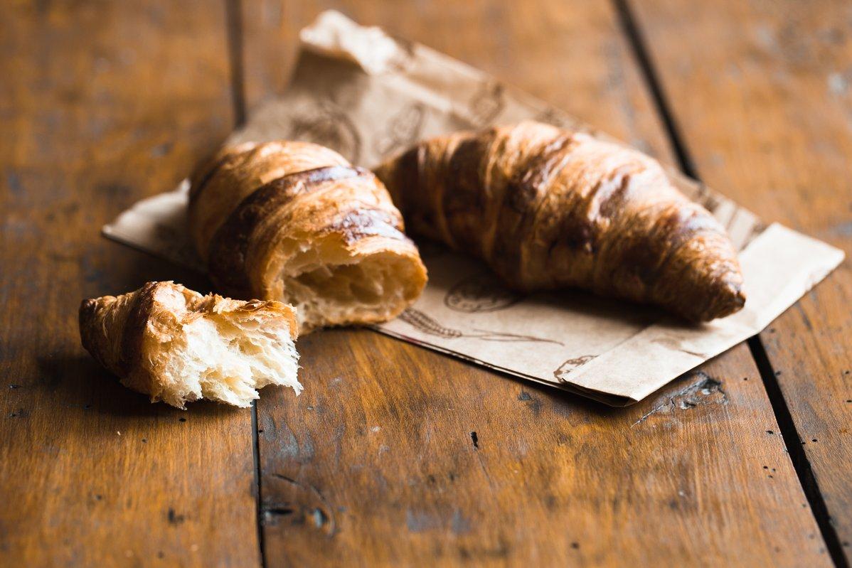 image Pâte levée feuilletée ou pâte à croissant