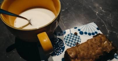 Brownie noix de pécan, noisette et chocolat au lait