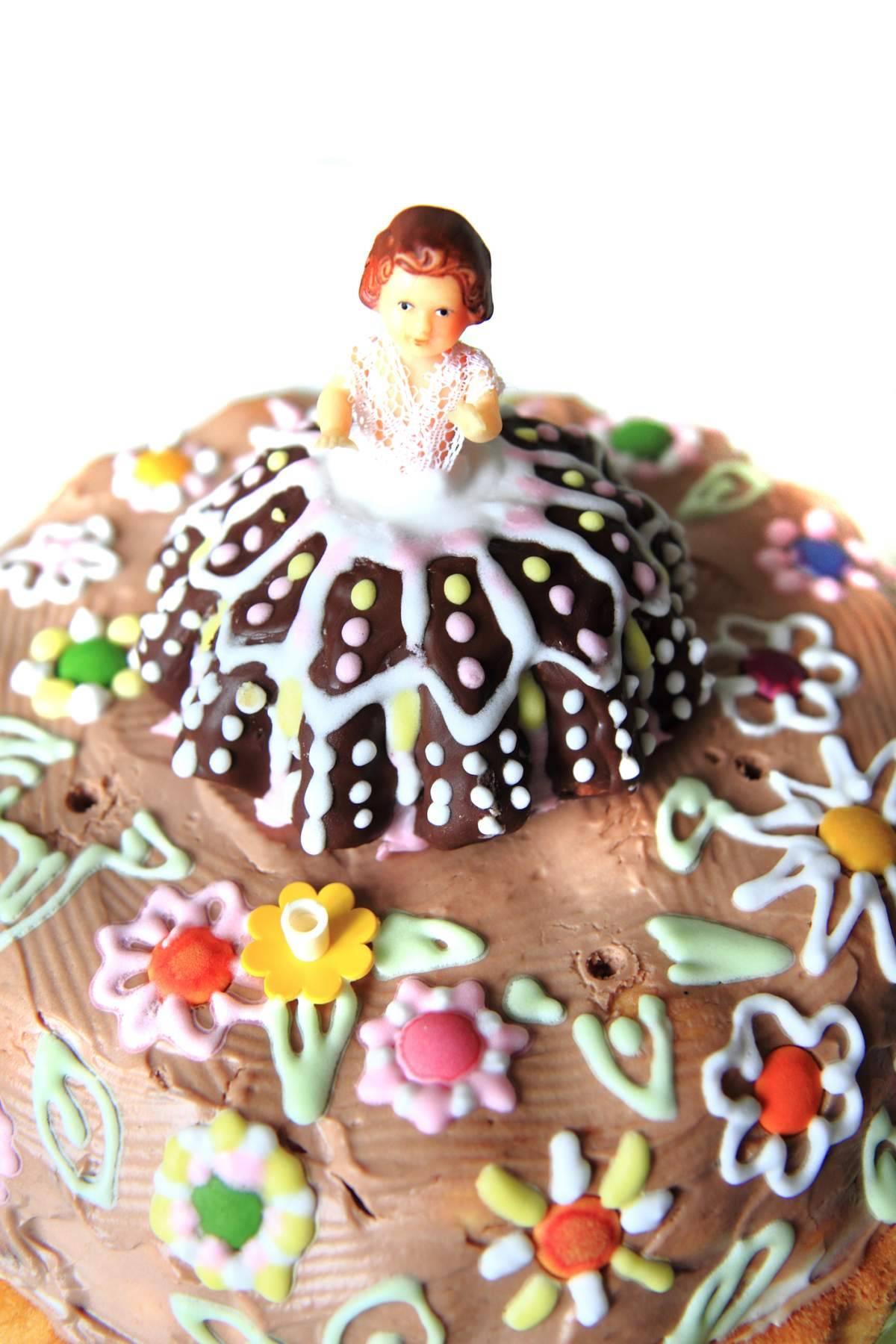 image Gâteau d'anniversaire Barbie ou princesse