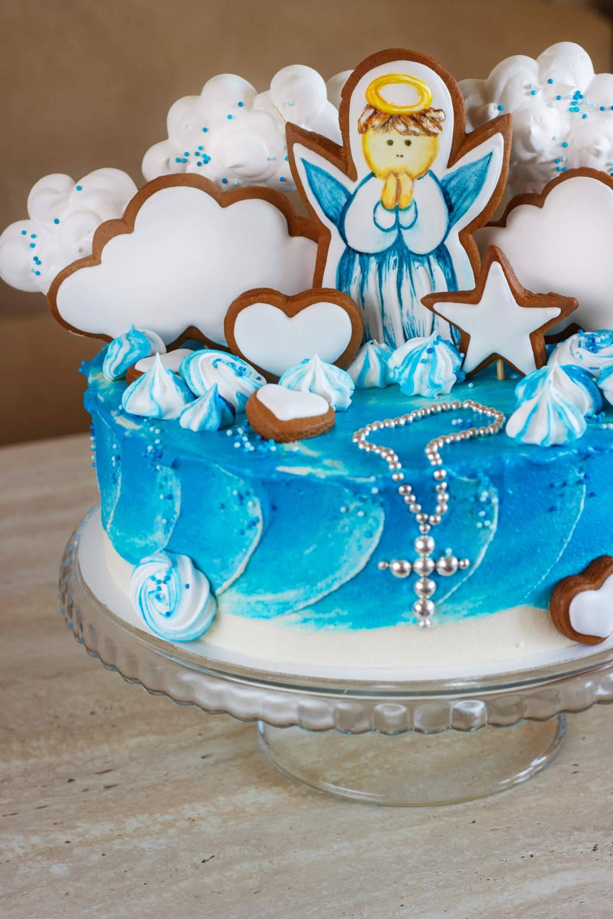image Gâteau de baptême personnalisé : Intérêt, coût et différents goûts à associer !