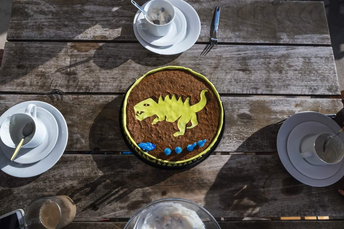 image Gâteau Dinosaure – Le gâteau d'anniversaire version Crétacé et Jurassique :)