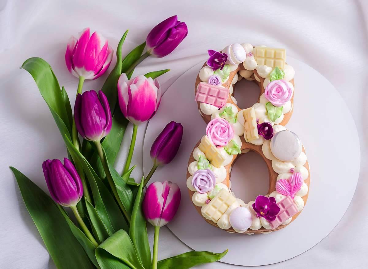 image Quelle fleur pour number cake?