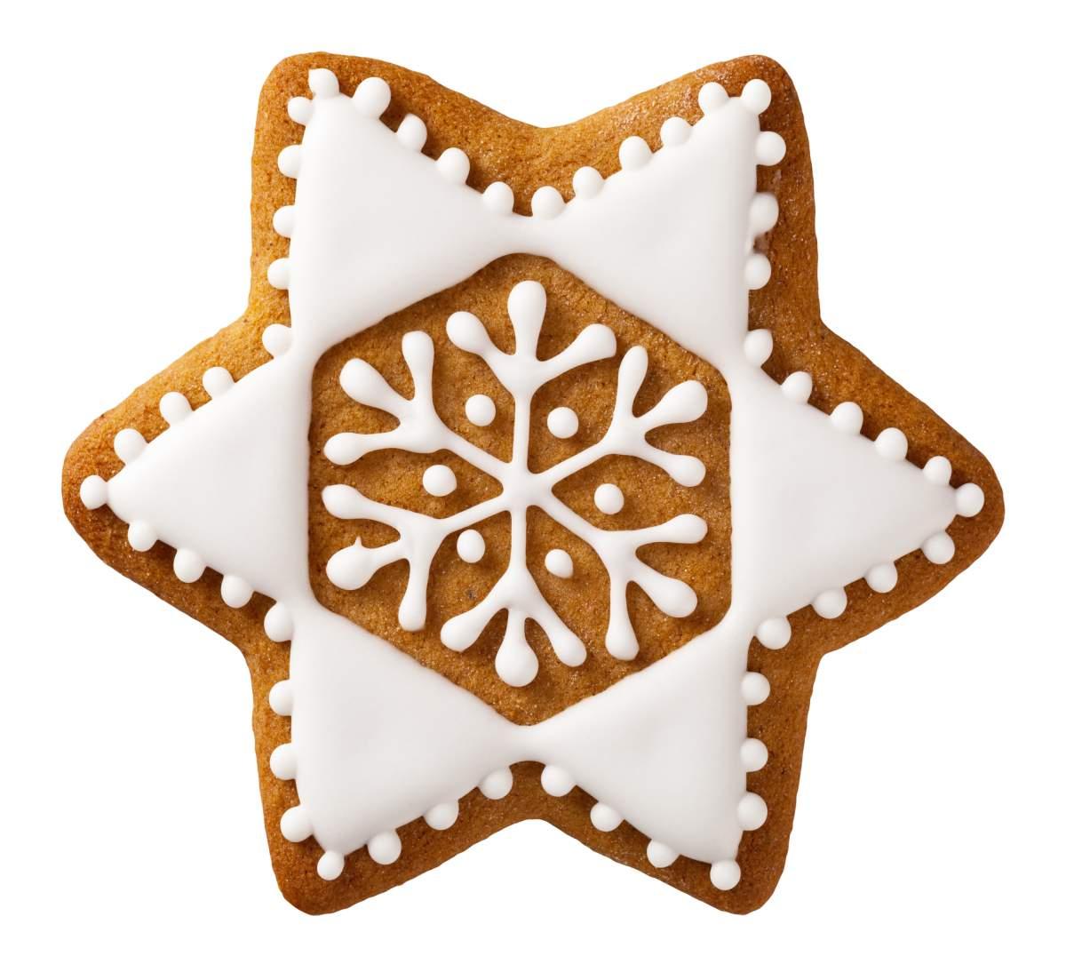 image Biscuit étoile au chocolat (star bread)